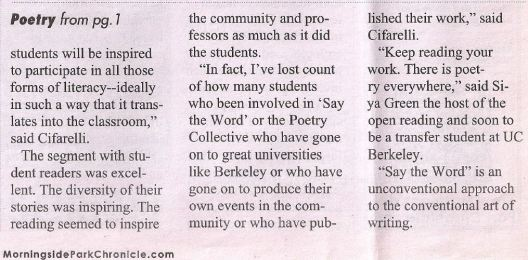 2014 ARTICLE ABOUT SAY THE WORD 2.2